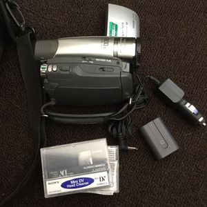 SONY camcorder for Sale in Las Vegas, NV