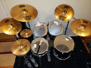 TAMA SWINGSTAR DRUM SET plus more for Sale in Herndon, VA