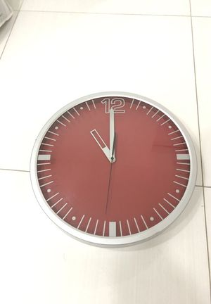 Ikea Red Clock for Sale in Miami, FL