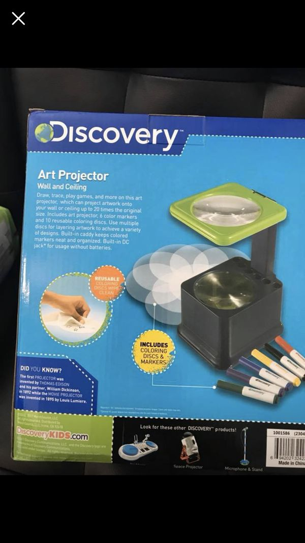 kids discovery art projector new for sale in metairie la offerup