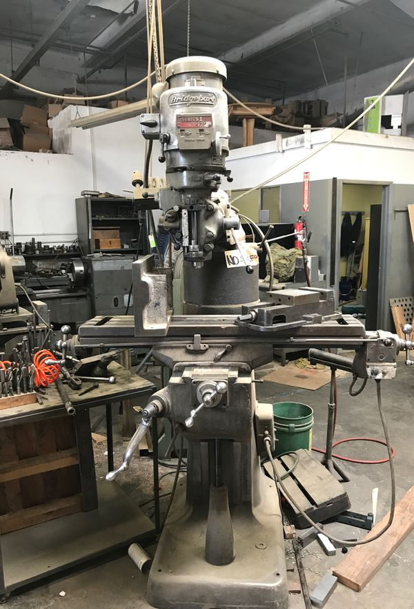 Milling Machine For Sale >> Bridgeport Vertical Milling Machine For Sale In Cerritos Ca Offerup