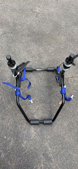 Photo Thule 2 bike rack for sedan