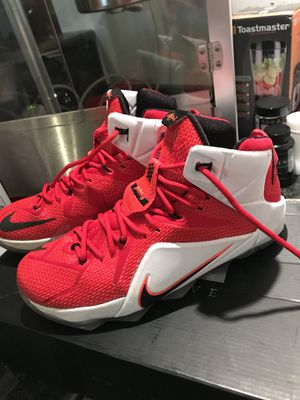 "Nike Lebrun 12 ""heart of the lion"" with original box for Sale in Mount Airy, MD"
