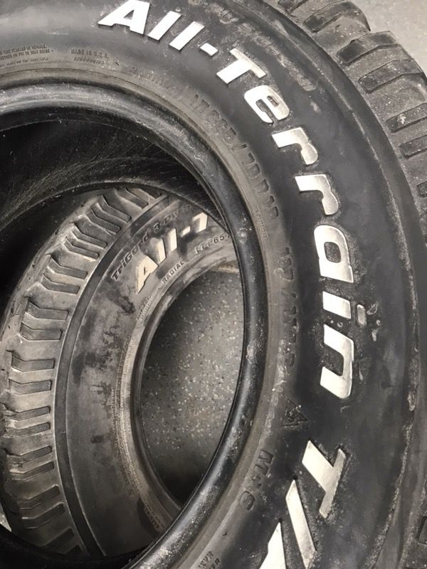 Bfg All Terrain Tires 265 70r16 25 R Auto Parts In Rhome Tx Offerup