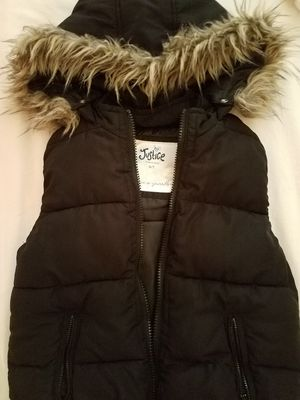 Justice hooded vest for Sale in OR, US