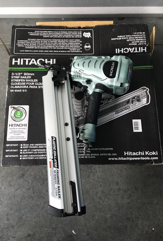 New hitachi NR90AE framing nailer for Sale in San Jose, CA - OfferUp