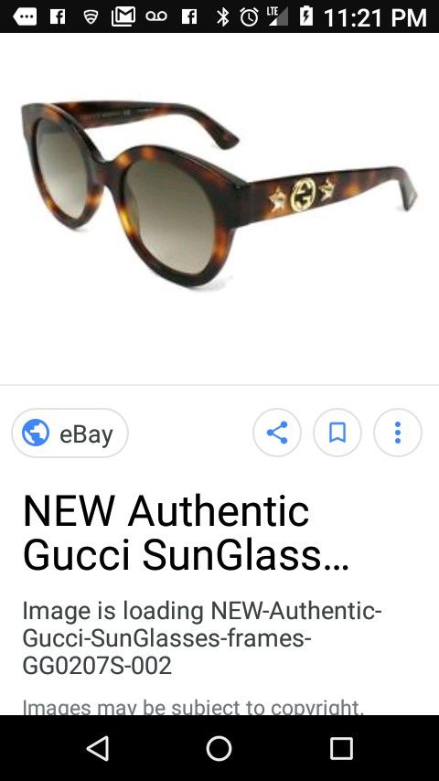 5bc096325729 Gucci New Authentic Sunglasses for Sale in Fullerton