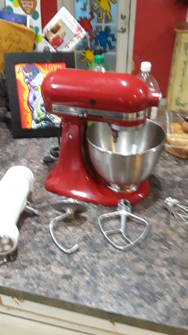 Used Kitchen Aid Red 300 Watt Mixer For Sale In Myrtle Beach Sc
