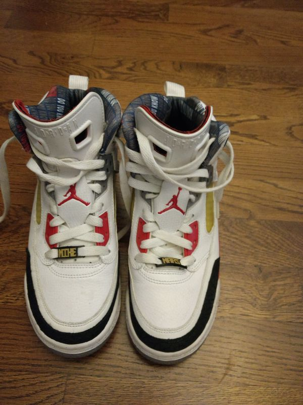 outlet store 61ba6 70823 NIKE AIR JORDAN Spizike Mars (317321-165) – White   Fire Red   Black–Size  6.5Y