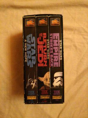 Star Wars VHS Trilogy for Sale in Dumfries, VA