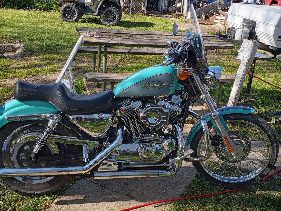 Photo 2000 Harley Davidson Sportster XL 1200cc Custom