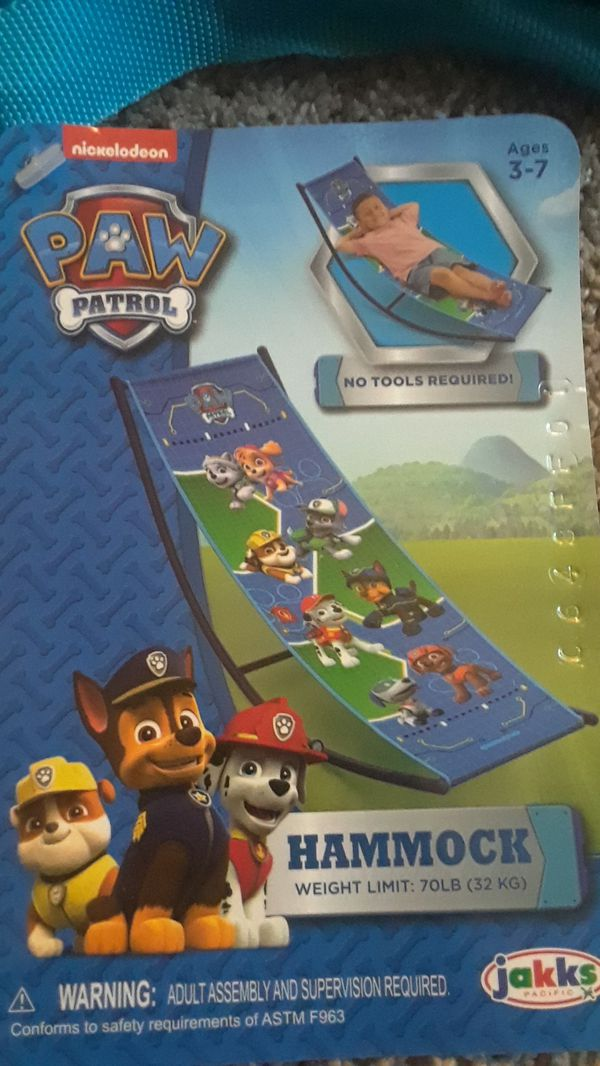 Paw Patrol Kids Hammock New For Sale In West Chicago Il Offerup