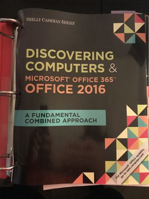 Discovering computers and Microsoft office 2016 for Sale in Woodbridge, VA
