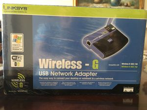 Linksys Wireless USB network adapter for Sale in Los Angeles, CA