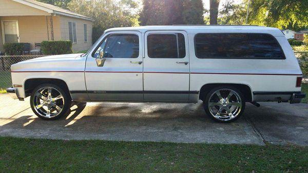 89 Chevy Suburban
