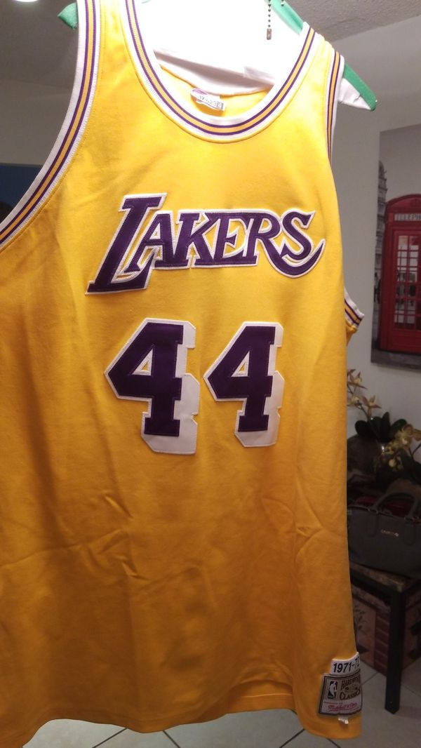 a063ec86401 Authentic Mitchell   Ness Jerry West Los Angeles Lakers Swingman Jersey  44  great condition SIZE 54