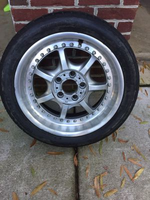 BMW Style 19 Wheel & Tire (235/45/17) for Sale in Franconia, VA