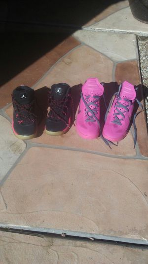 Semi new Jordans and nike sneakers for Sale in Laveen Village, AZ