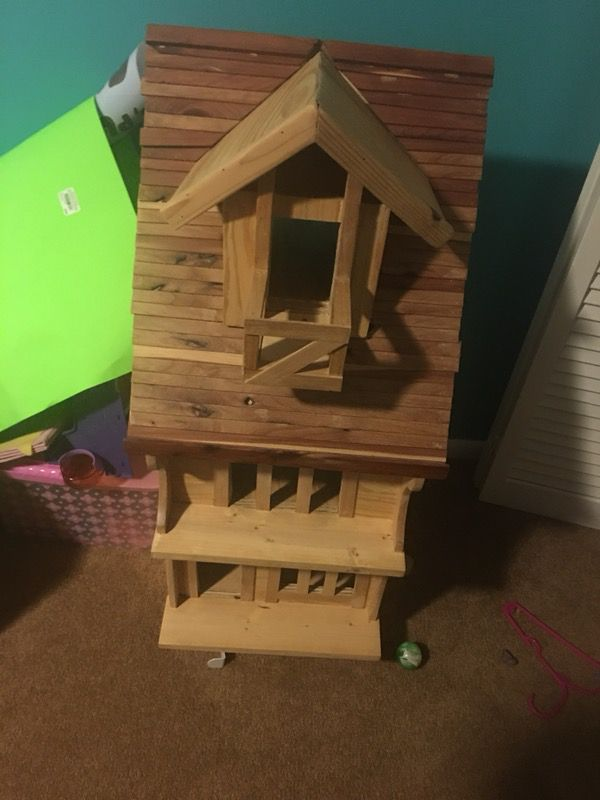 Handmade Wooden Dollhouse For Sale In San Antonio Tx Offerup