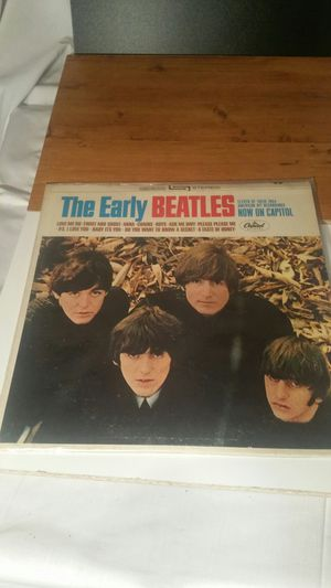 Photo The Beatles the early Beatles LP 1971 Apple record
