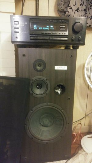 Kenwood speakers onyko receiver for Sale in Denver, CO