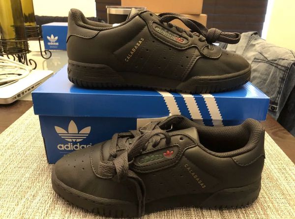 0f747ddf1 Men s ADIDAS Yeezy PowerPhase Calabasas Core Black   Core Black   Core Black  Shoes New w  Box