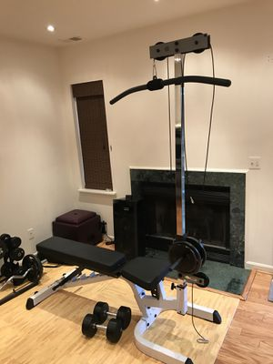 Body Solid bench and lat pull down for Sale in Fairfax, VA