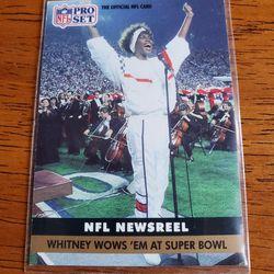 Whitney Houston Superbowl Card Thumbnail