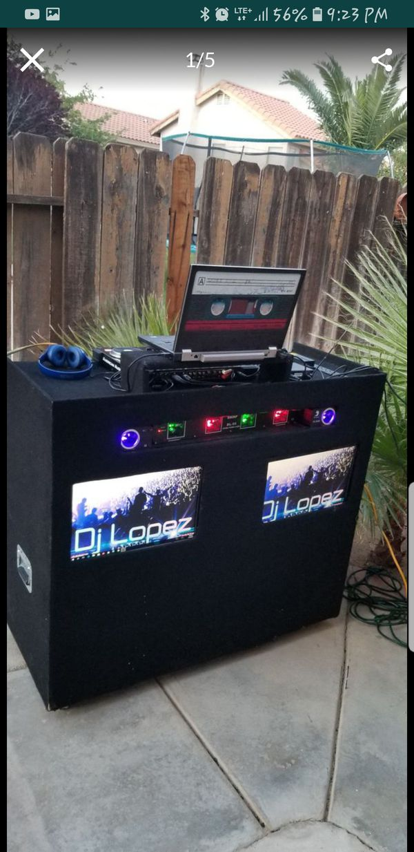 Dj Booth For Sale >> Dj Booth For Sale With Tv Screens For Sale In Palmdale Ca Offerup