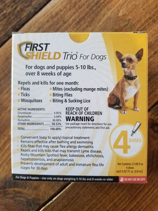 First Shield Trio For Small Breeds For Sale In Winston Salem Nc