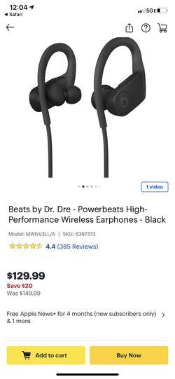 Beats by Dre earphones Thumbnail