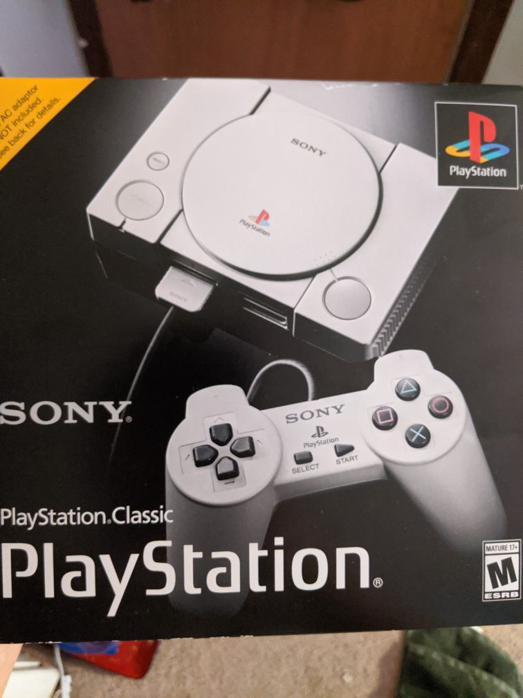 PlayStation with games included. Like New condition and extra HDMI cable