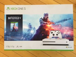 BRAND NEW FACTORY SEALED XBOX ONE S BATTLEFIELD BUNDLE V 1TB for Sale in Sterling, VA