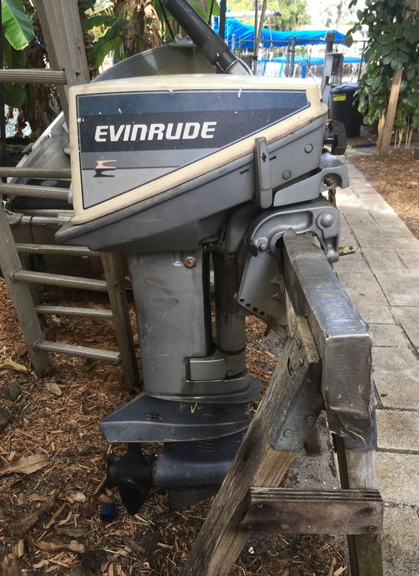 Evinrude 15 Hp >> Evinrude 15hp 2 Stroke Outboard For Sale In Fort Lauderdale Fl Offerup