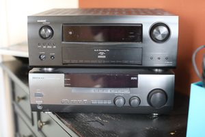Denon AVR-4310CI Receiver and Kenwood VR-209 for Sale in Seattle, WA