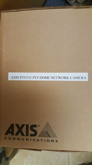 Axis PTZ Network camera for Sale in Silver Spring, MD