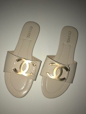 Chanel sandals size 8.5 for Sale in Germantown, MD