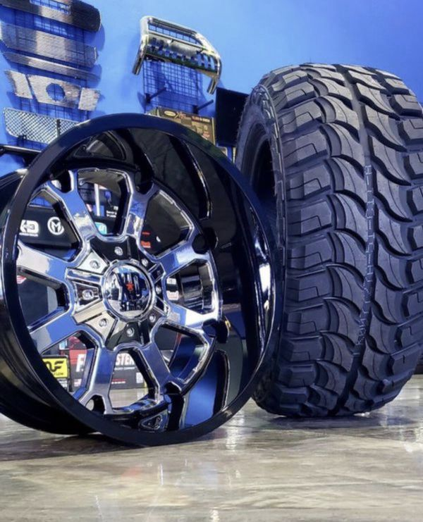Today Only $1399 XDSeries 20x12 5x139.7 5x150 Wheels
