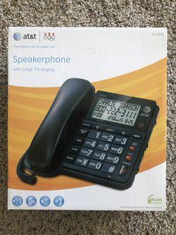 AT&T CL2939 Speakerphone Thumbnail
