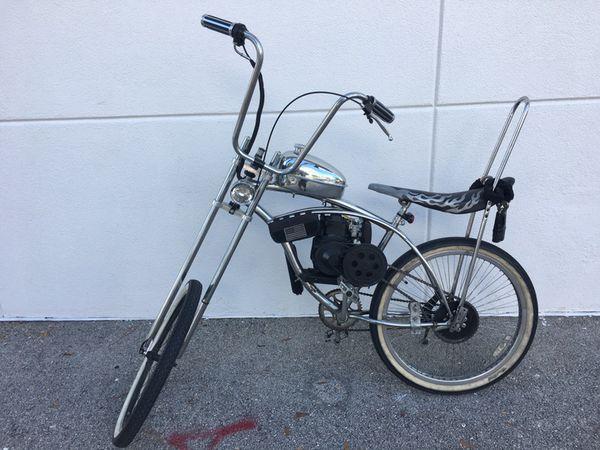 Motorized Bicycle Chopper 50 cc 4 stroke