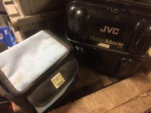 2 old jvc camcorders, used for sale  Tulsa, OK