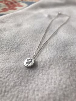 Forever 21 Cactus Necklace Thumbnail