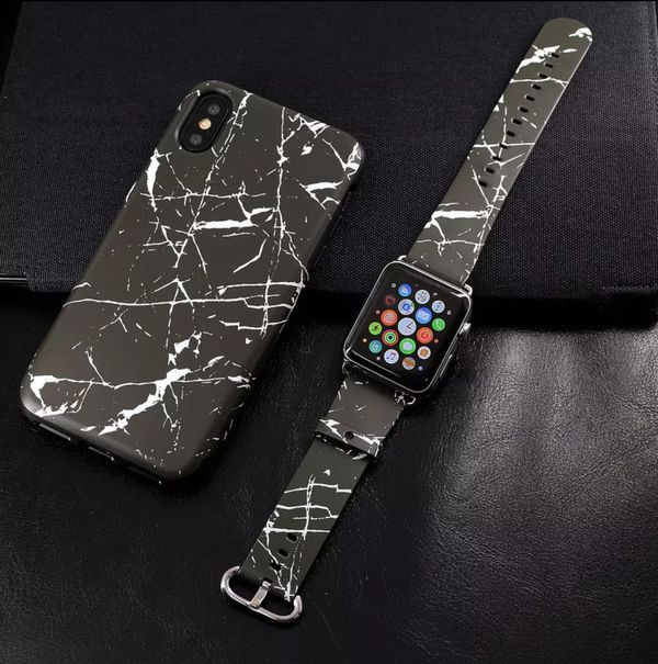 wholesale dealer 7dc15 91357 2019 iPhone X Marble Case With Matching Apple Watch Band for Sale in San  Mateo, CA - OfferUp