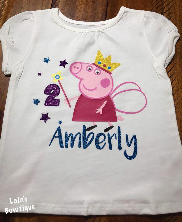 Peppa Pig Happy Birthday Shirt