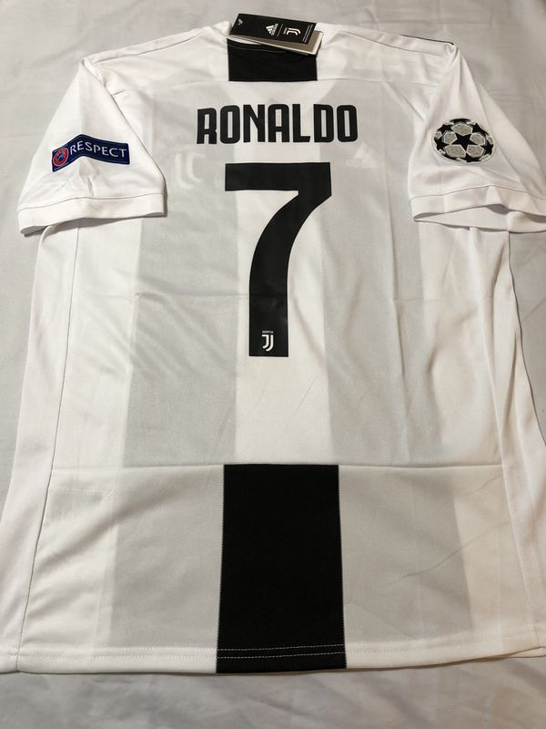 new style 82e46 4903e Ronaldo Juventus Home Jersey-UCL 18/19 Season for Sale in Glendale, CA -  OfferUp