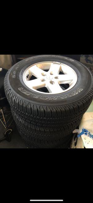 5 Jeep Wrangler tires make offer for Sale in Vienna, VA