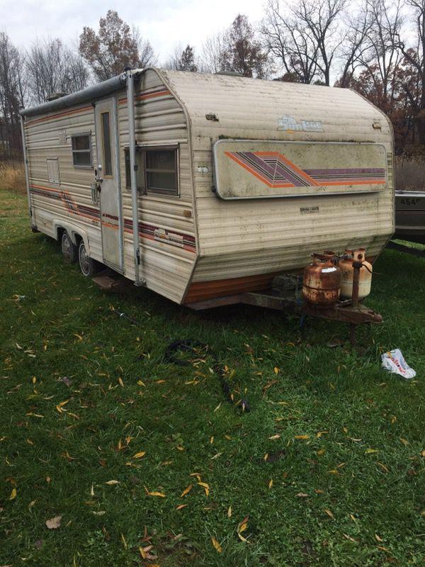 Pull behind camper for Sale in Newport, MI - OfferUp