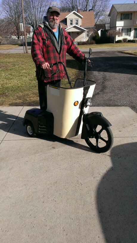 American Chariot 3 Wheel Electric Scooter