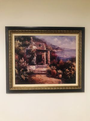 Extraordinary Italian oil painting. $400 frame and expert framing for Sale in Kensington, MD