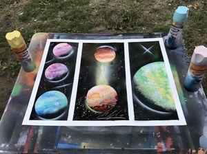 Used, Custom Made Galaxy Posters for sale  Broken Arrow, OK
